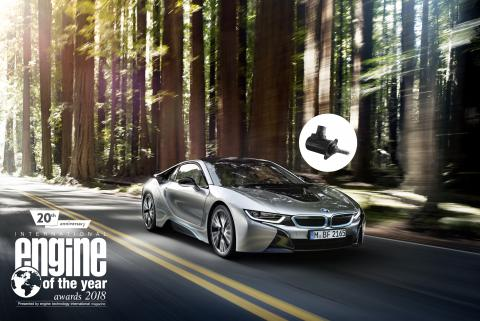 Bmw I8 Featuring Sonceboz Actuators Wins Engine Of The Year Award