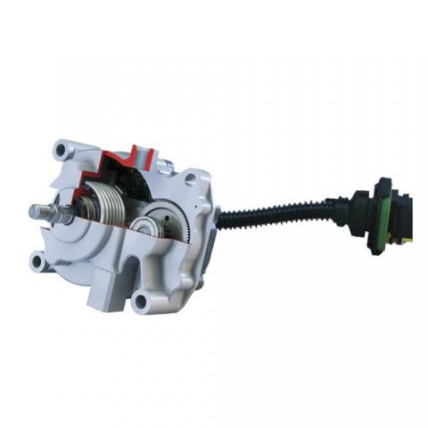 BLDC actuators for air charging in diesel engines