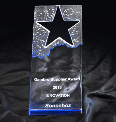 Gambro award - innovation