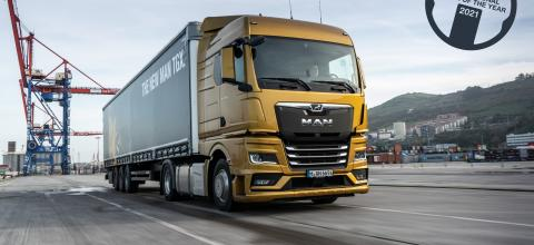 MAN TGX, Truck of the Year 2021